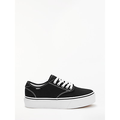 Vans Camden Platform Canvas Trainers, Black