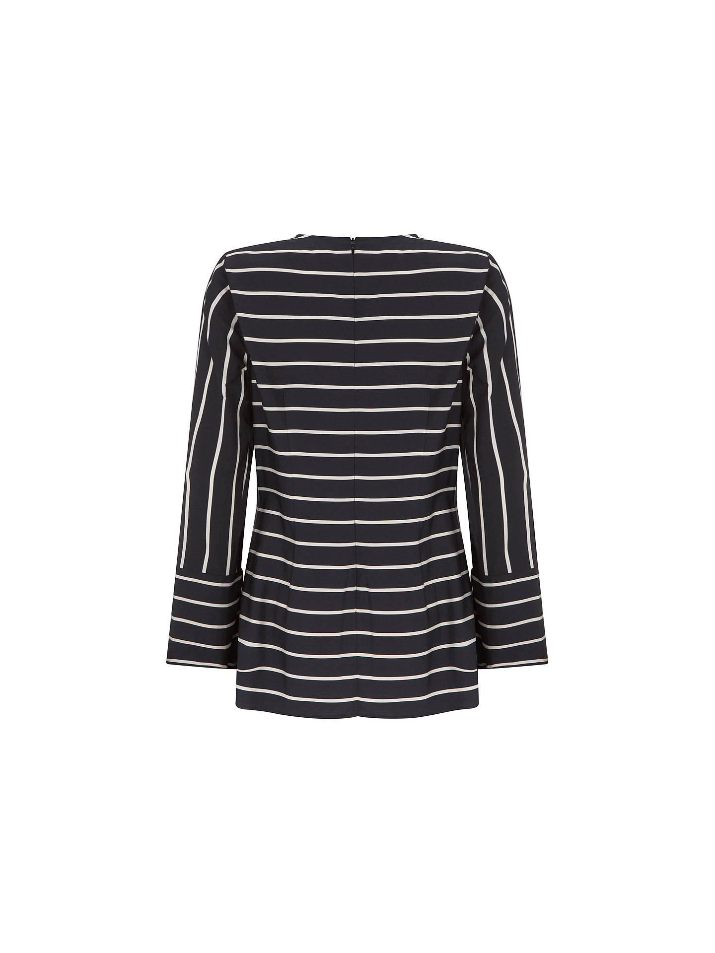 BuyMint Velvet Striped Knotted Top, Multi, 6 Online at johnlewis.com