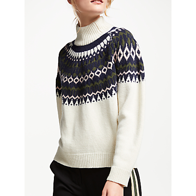 Just Female Ridari Knitted Jumper, Natural