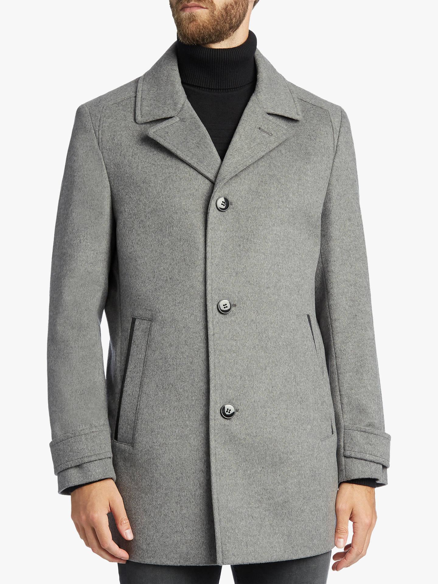 7a44ef0672b5 Buy HUGO by Hugo Boss Midais Virgin Wool Cashmere Melange Coat