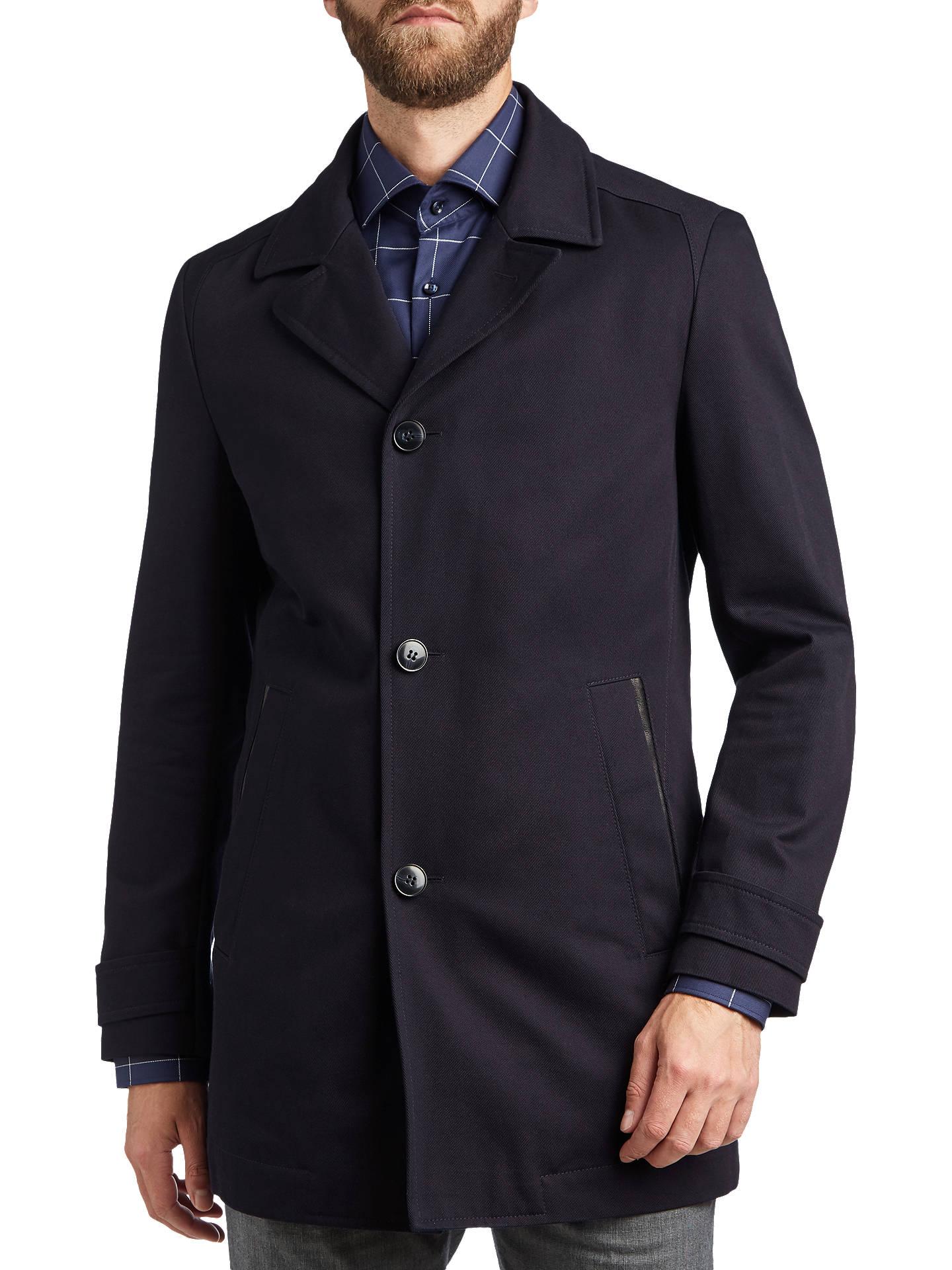 0a23c28dd3b Hugo Boss Midias Coat, Navy