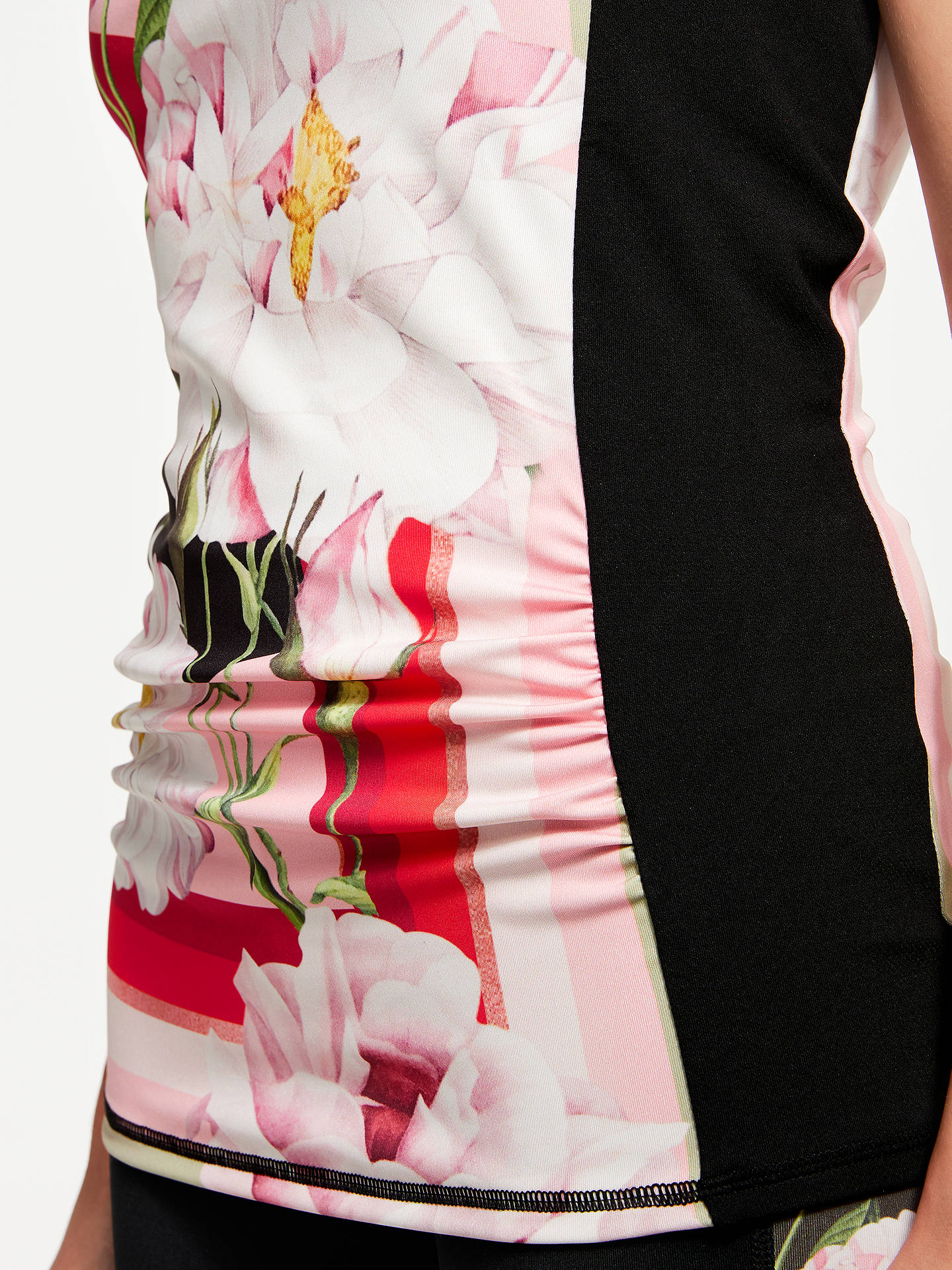 Buy Ted Baker Fit to a T Sahara Bloom Print Vest Top, Multi/Red, L Online at johnlewis.com