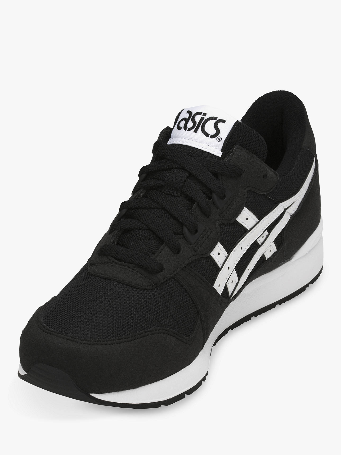Buy ASICSTIGER GEL-LYTE Trainers, Black, 10 Online at johnlewis.com