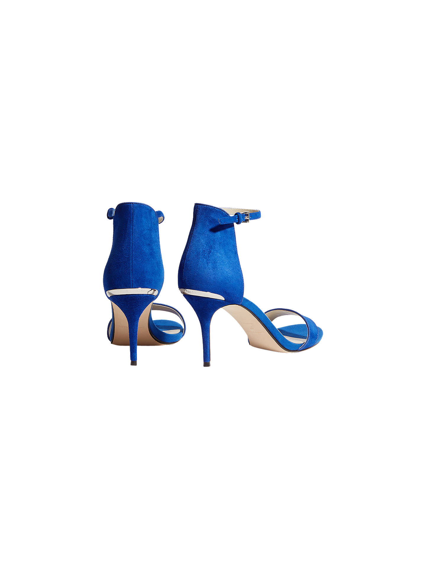 BuyKaren Millen Strappy Stiletto Sandals, Blue, 3 Online at johnlewis.com