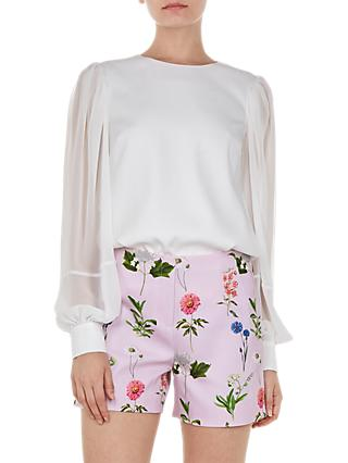 Ted Baker Neeva Floral Shorts, Pink