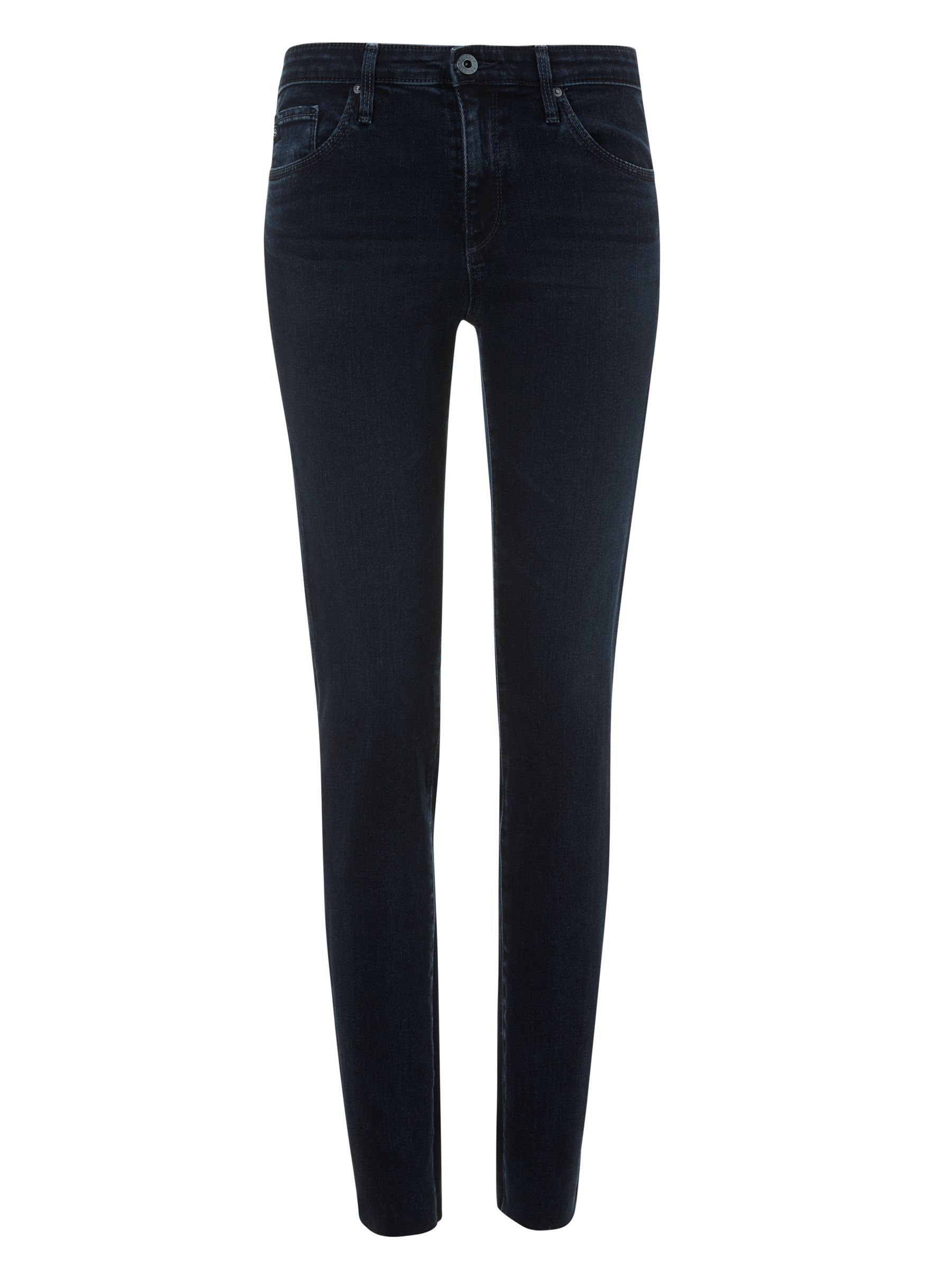 Buy AG The Prima Mid Rise Skinny Ankle Jeans, Yardbird, 24 Online at johnlewis.com