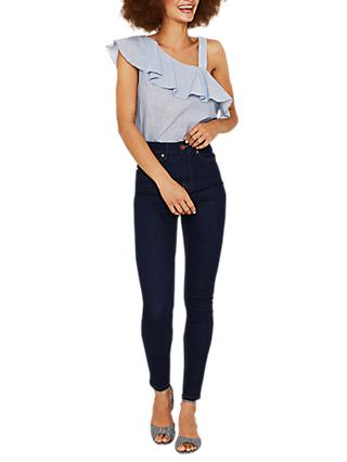 Oasis Lily Skinny Jeans, Dark Wash