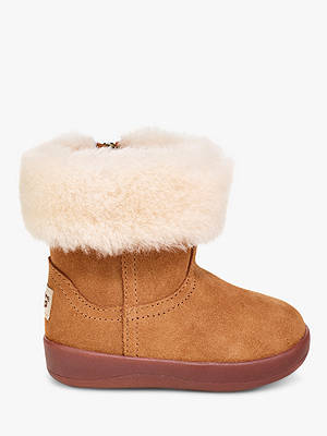 BuyUGG Children's Jorie II Boots, Chestnut Brown, 2-3 Online at johnlewis.com