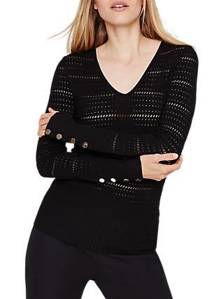Damsel in a Dress Holly Knitted Jumper, Black