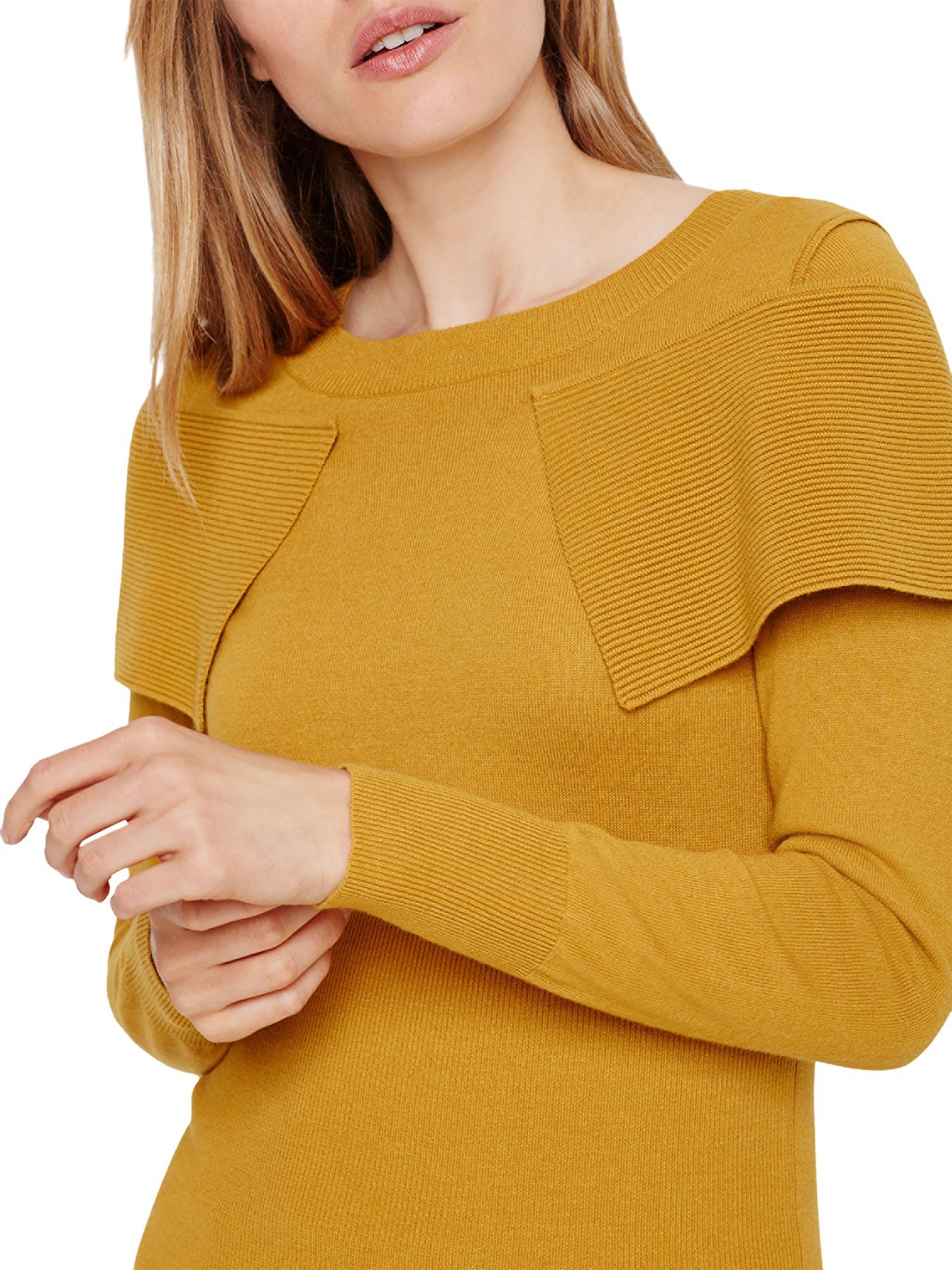Damsel in a dress Damsel in a Dress Over Knitted Jumper, Mustard
