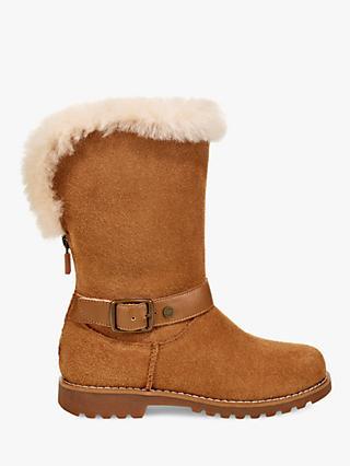 UGG Children's Nessa Buckle Detail Boots
