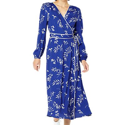 Image of Ghost Tasmin Avalon Petals Print Dress, Blue