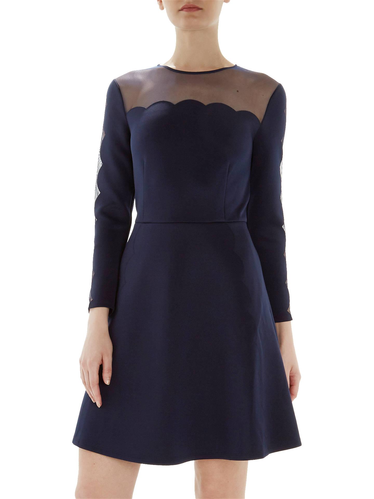 3dcdbae1ff76 Buy Ted Baker Kikoh Mesh Panelled Dress