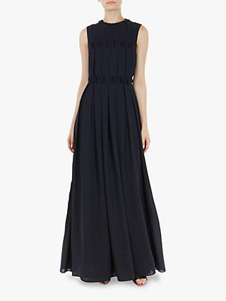 Ted Baker Saffron Maxi Dress, Blue Navy