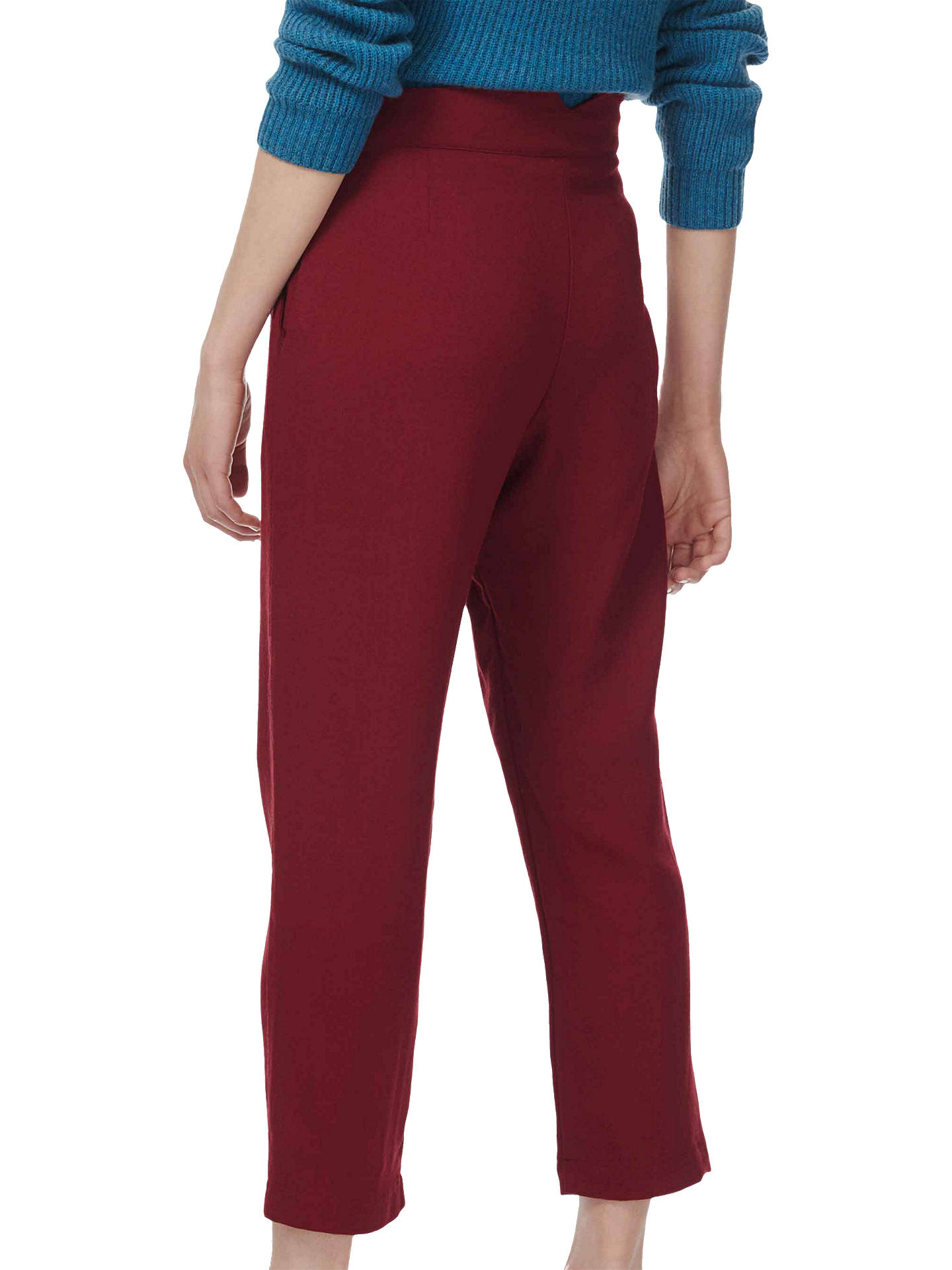 BuyBrora Wool Crepe Trousers, Auburn, 6 Online at johnlewis.com