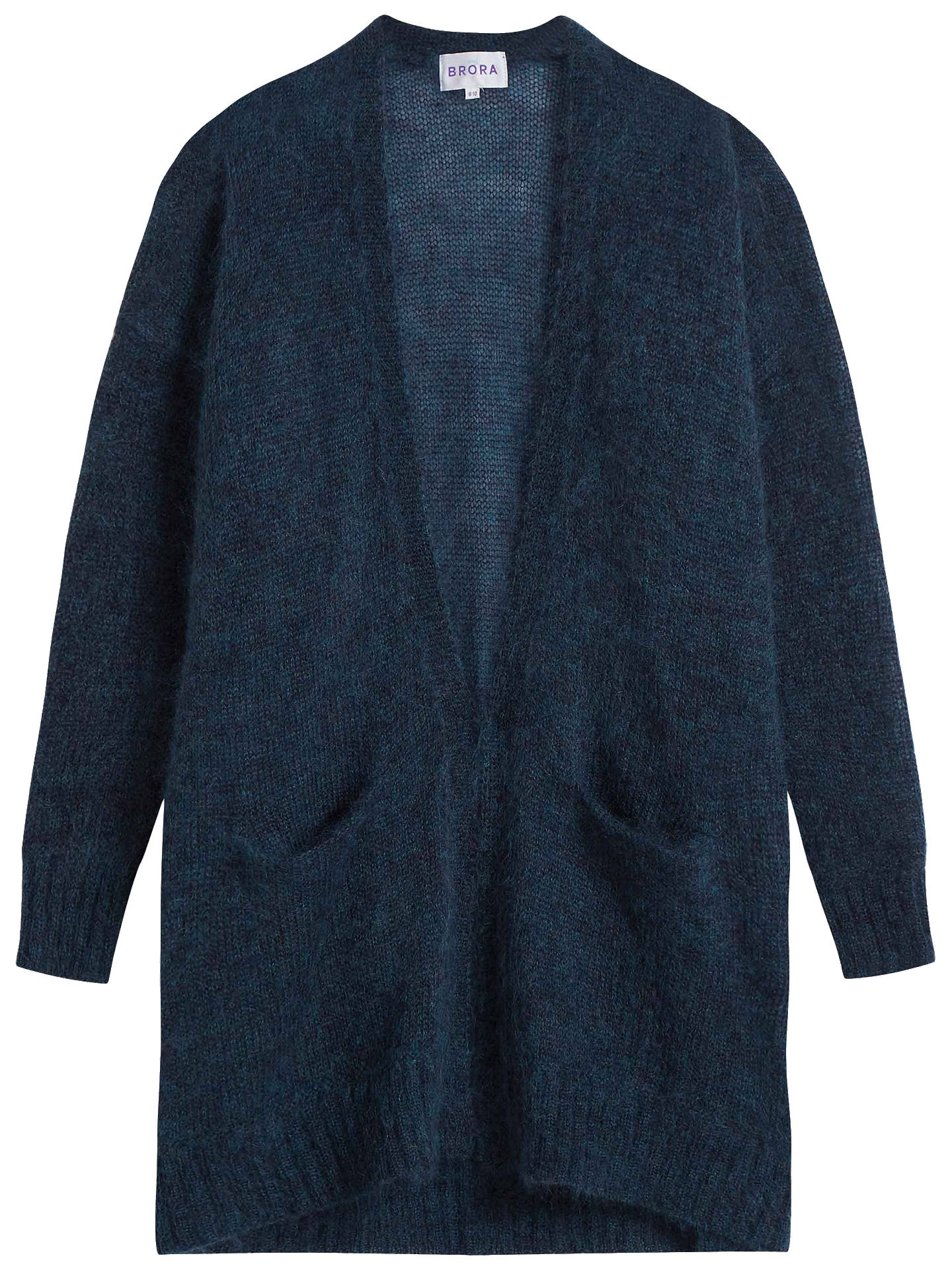 BuyBrora Mohair Long Cardigan, Diesel, 8-10 Online at johnlewis.com