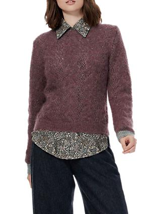 Brora Mohair Lace Jumper