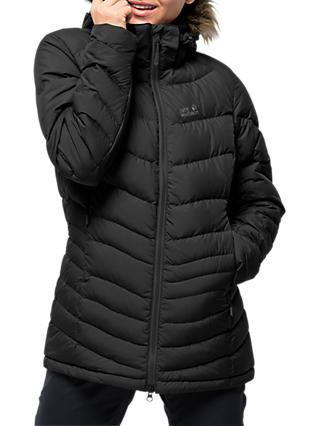Jack Wolfskin Selenium Down Women's Jacket, Black