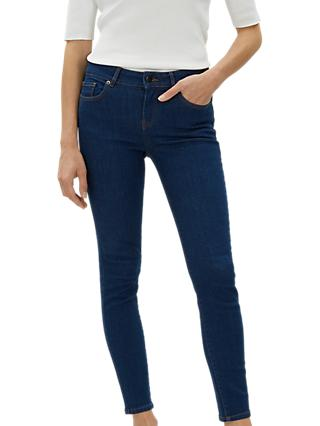 Jaeger High Rise Skinny Jeans, Indigo