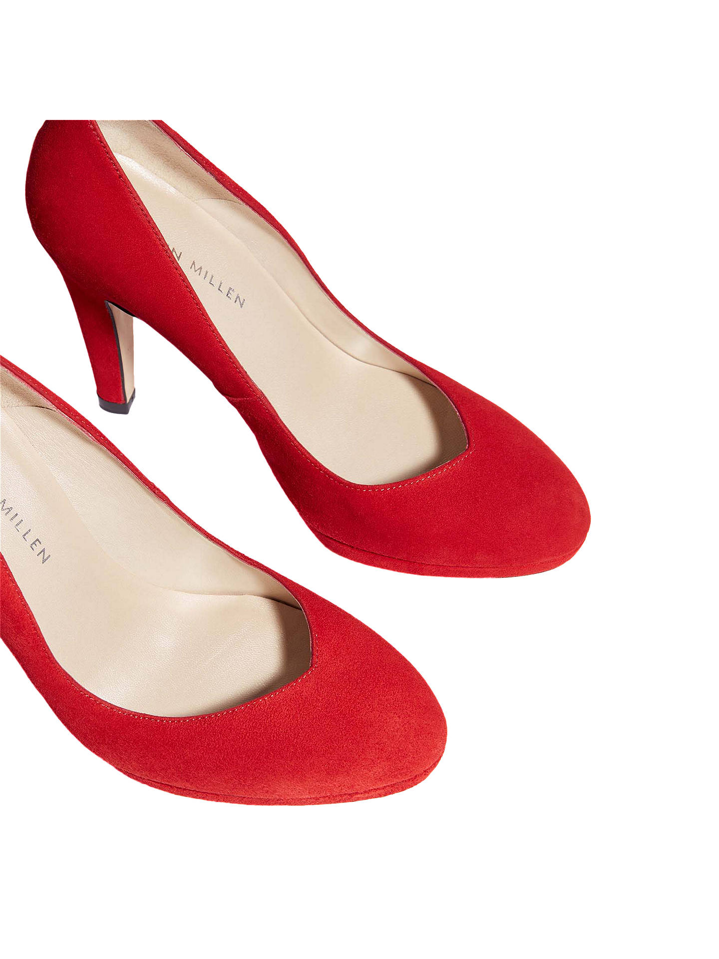 374f93e8b48 Karen Millen Platform Court Shoes at John Lewis & Partners