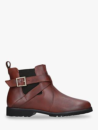 Carvela Comfort Robbie Leather Ankle Boots