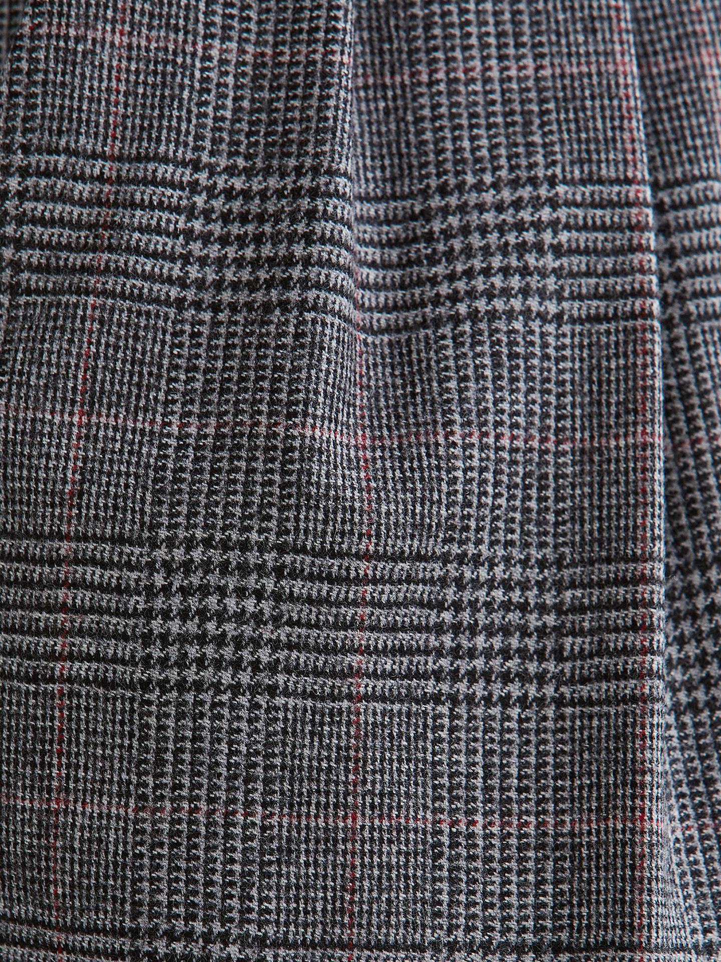 Buy Toast Prince Of Wales Check Trousers, Grey, 8 Online at johnlewis.com