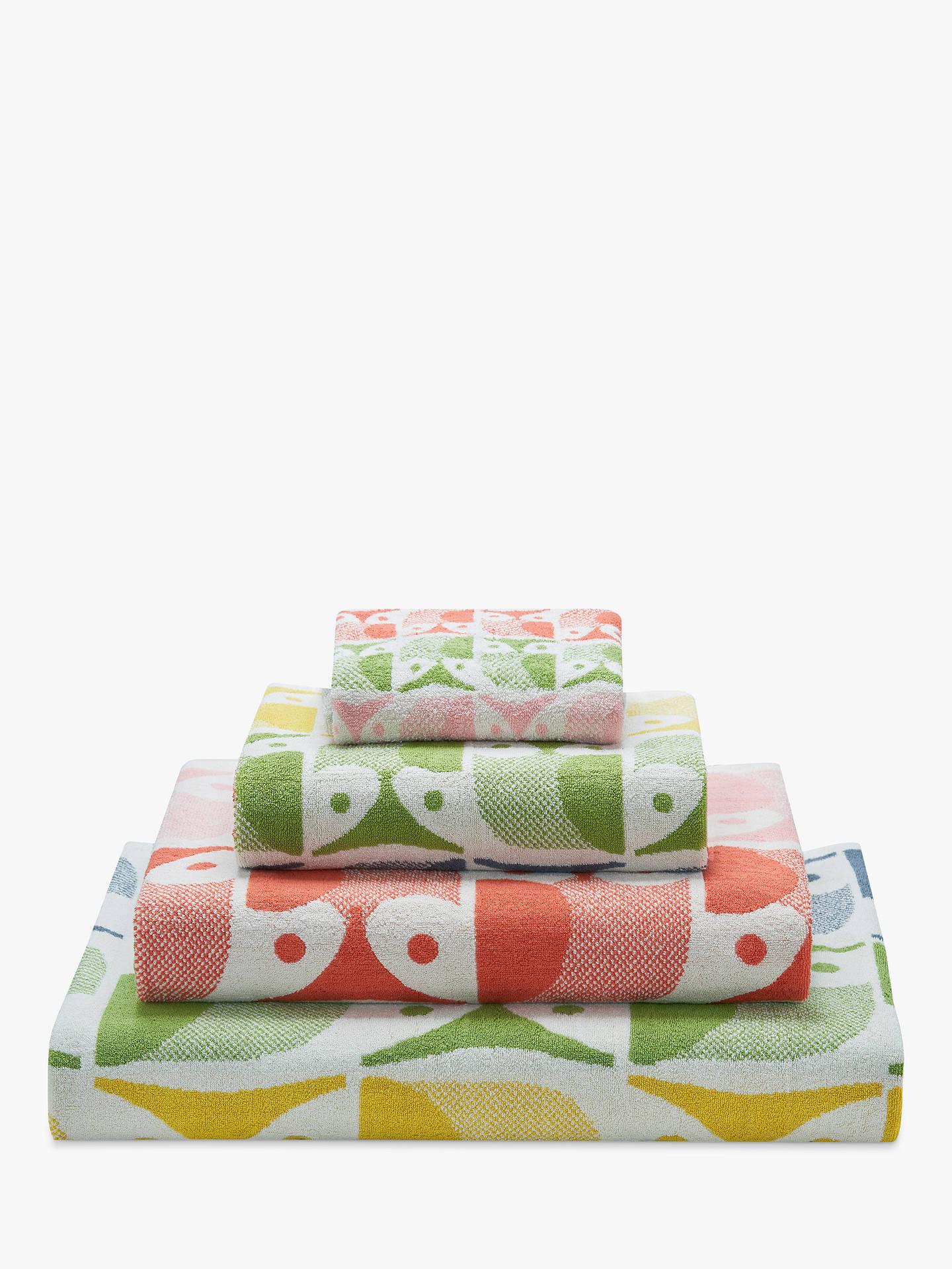 orla kiely owl towels at john lewis partners. Black Bedroom Furniture Sets. Home Design Ideas