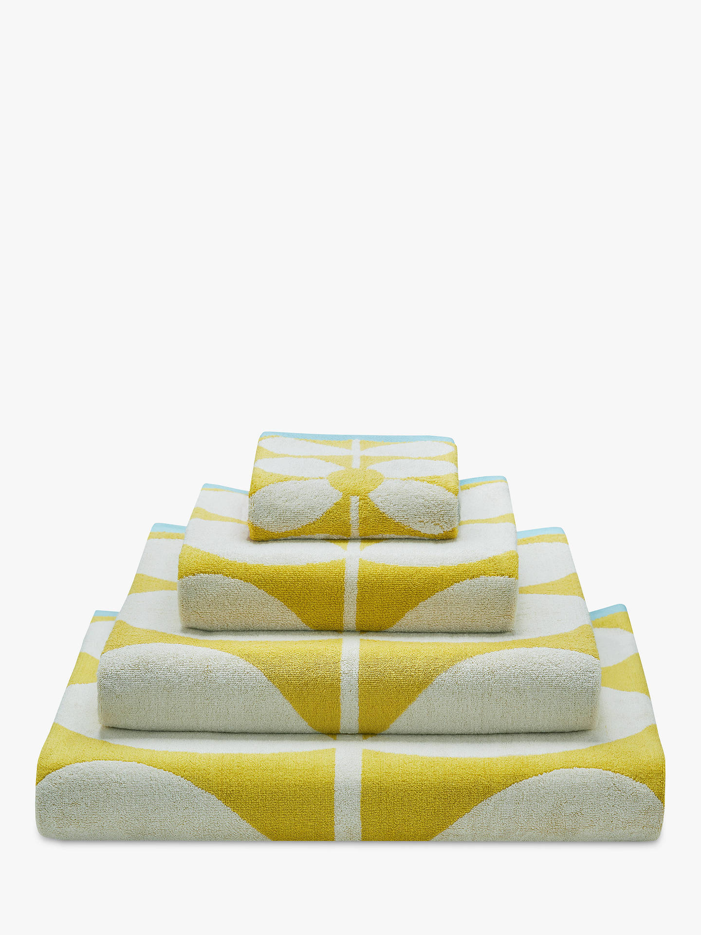 orla kiely sixties stem towels at john lewis partners. Black Bedroom Furniture Sets. Home Design Ideas