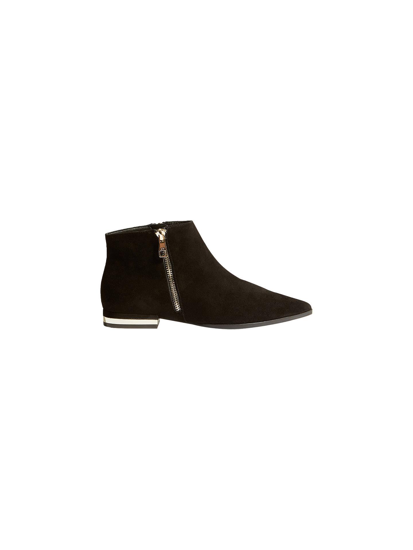 ec97fb9f636d Buy Karen Millen Side Zip Flat Ankle Boots