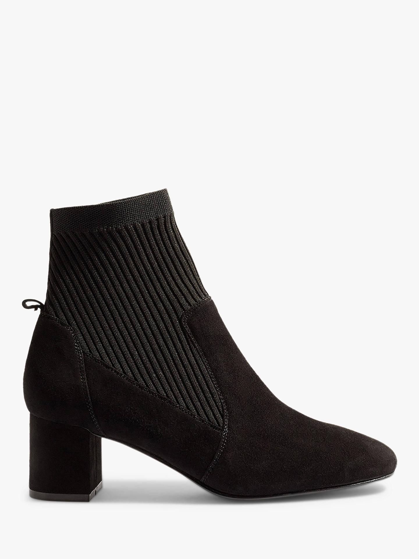 a9da1ea7956d Buy Karen Millen Sock Block Heel Ankle Boots
