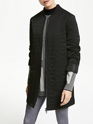 PATTERNITY + John Lewis Ritual Quilted Jacket, Black