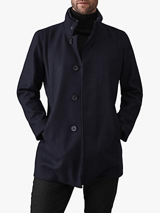 Reiss Angelo Coat, Navy