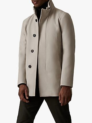 Reiss Angelo Coat, Taupe
