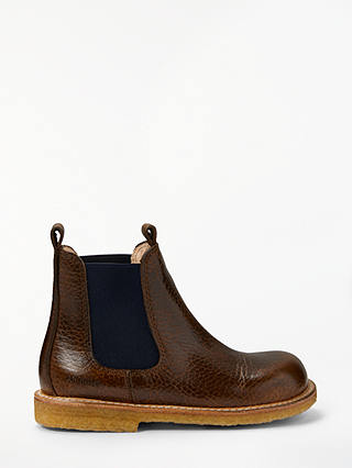Buy ANGULUS Children's Chelsea Boots, Brown, 35 Online at johnlewis.com