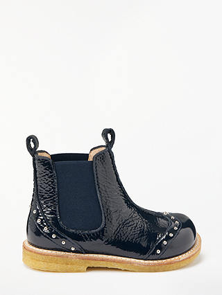 Buy ANGULUS Children's Studded Chelsea Boots, Blue, 34 Online at johnlewis.com