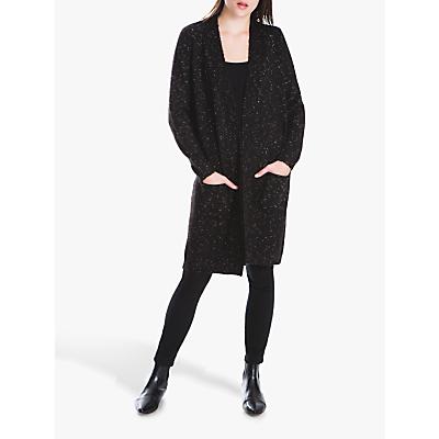 Max Studio Long Knit Cardigan, Black