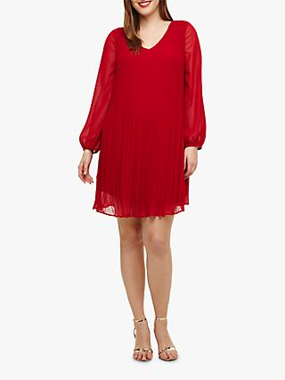 Studio 8 Fontaine Tunic Dress, Red