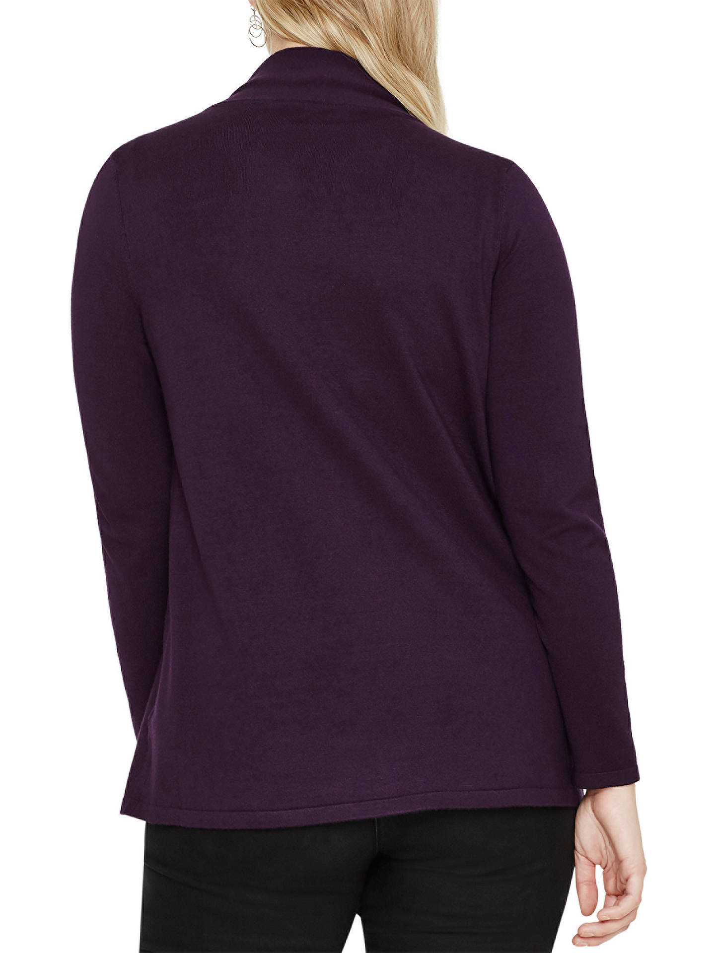 Buy Studio 8 Kendra Cardigan, Purple, 16 Online at johnlewis.com