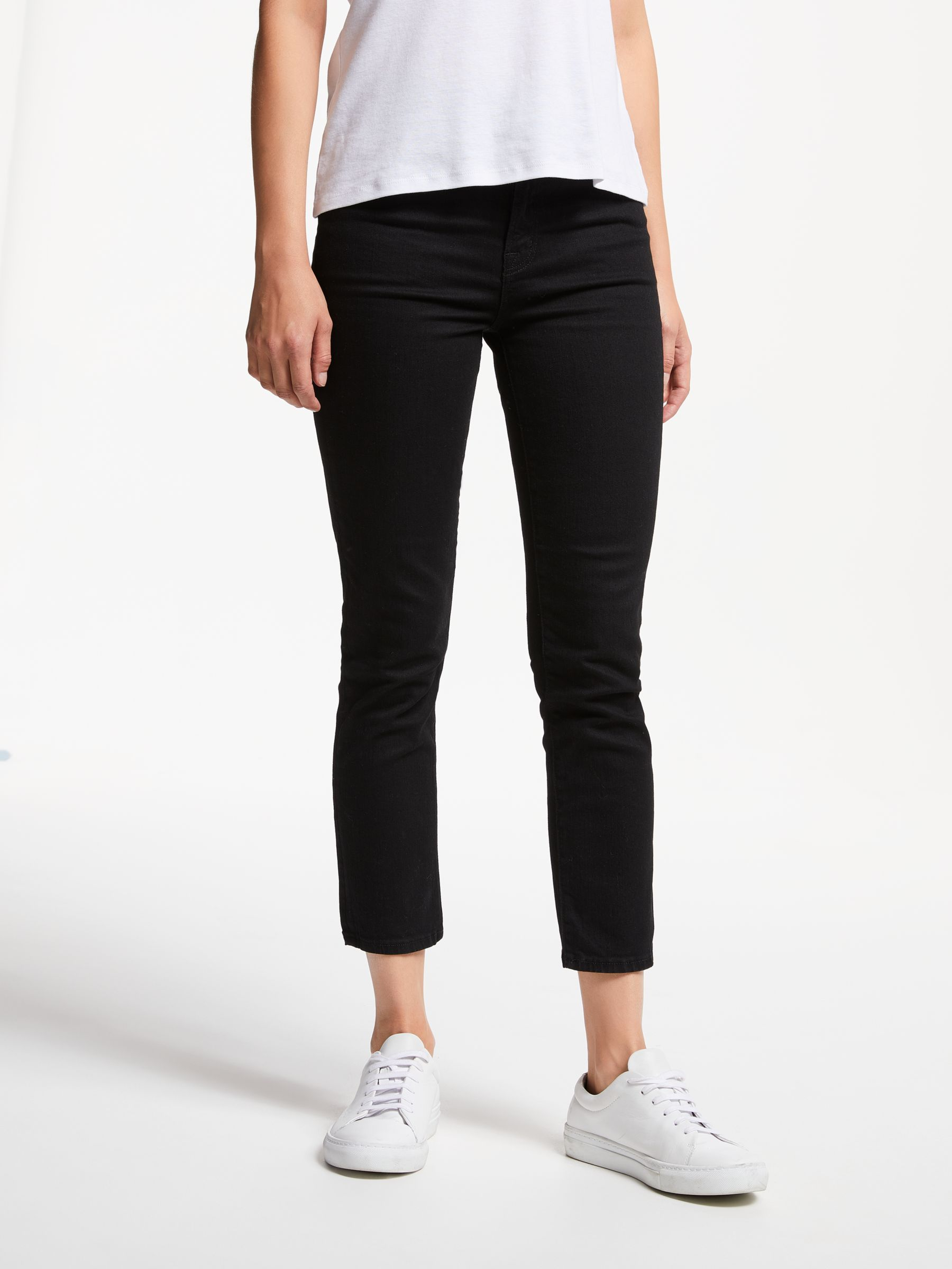J Brand J. Brand Ruby High Rise Skinny Cropped Jeans