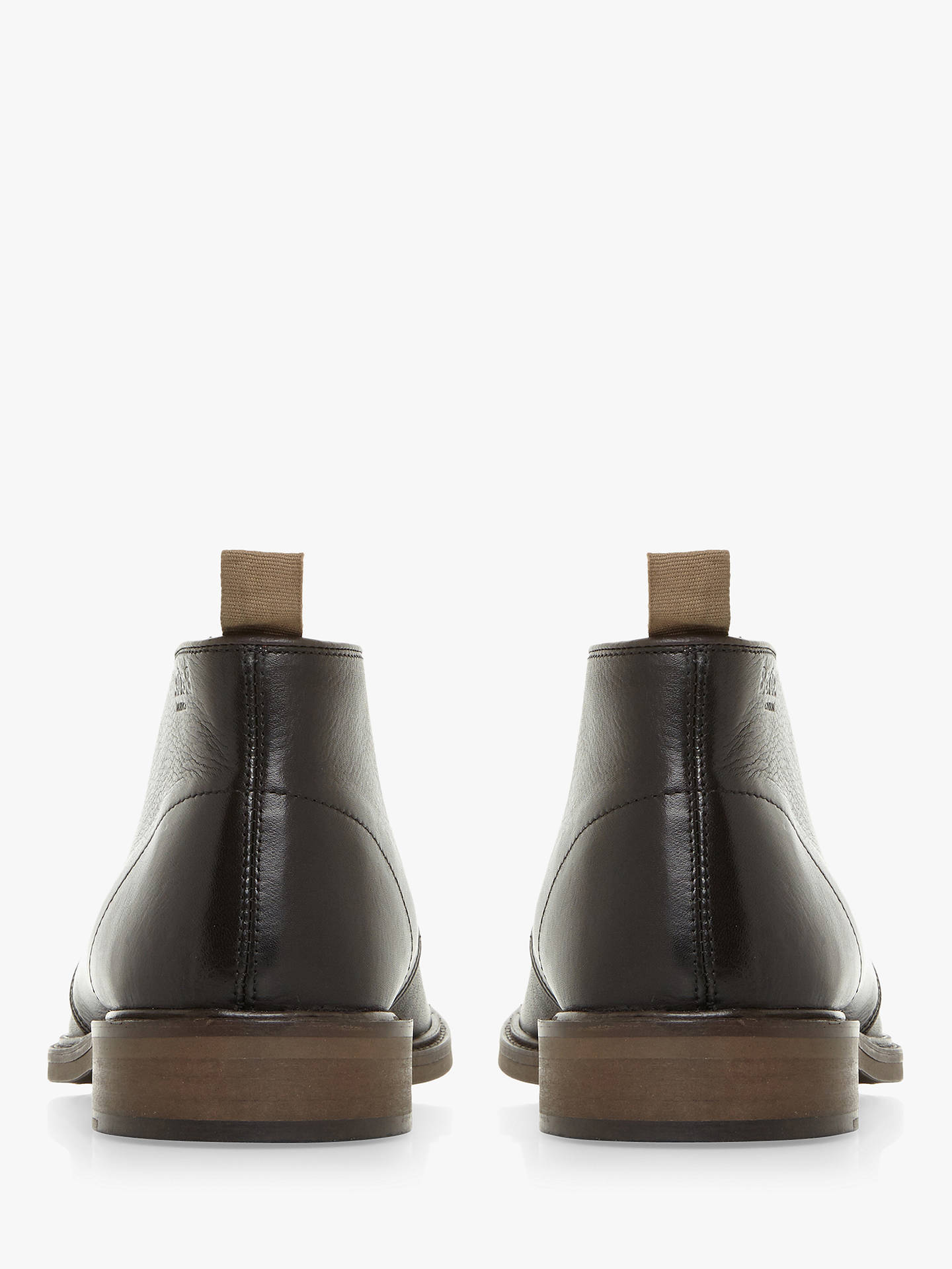 BuyBertie Mogul Leather Chukka Boots, Black, 6 Online at johnlewis.com