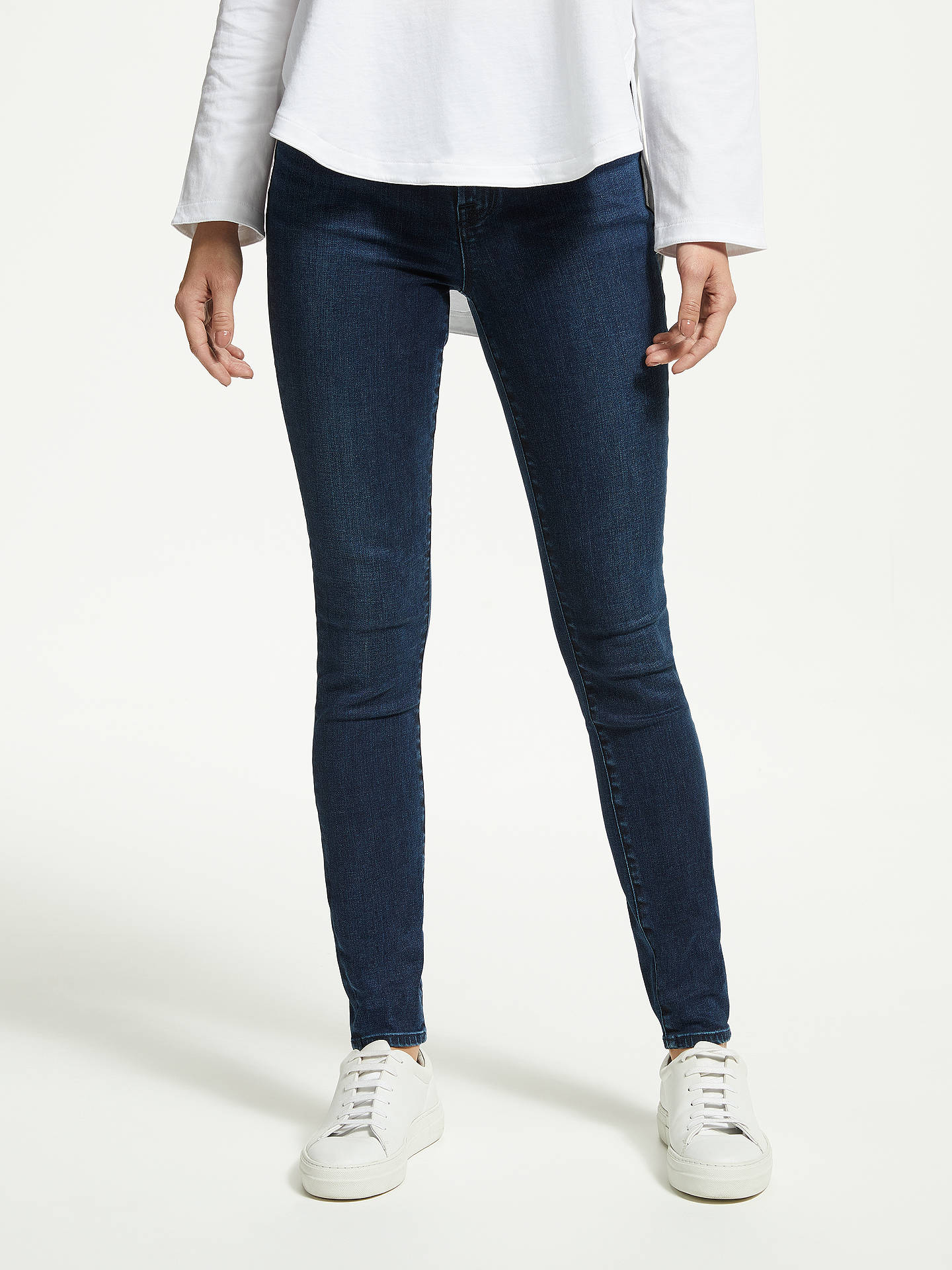 Buy J Brand Maria High Rise Skinny Jeans, Phased, 26 Online at johnlewis.com