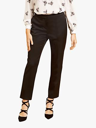 Fenn Wright Manson Petite Raye Tailored Trousers, Black