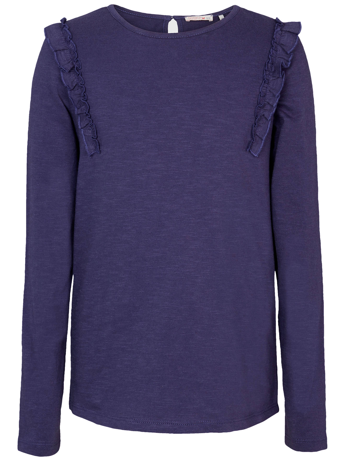 e42984e65 Fat Face Girls  Luise Frill Long Sleeve Top at John Lewis   Partners