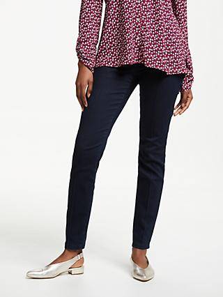Gerry Weber Slim Stretch Cotton Trousers, Blue Denim