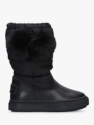 Kurt Geiger London Children's Arctic Boots, Black