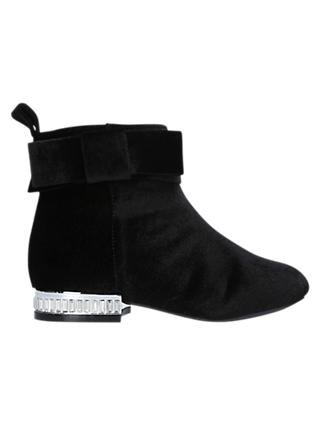 Kurt Geiger London Children's Glitz Boots, Black