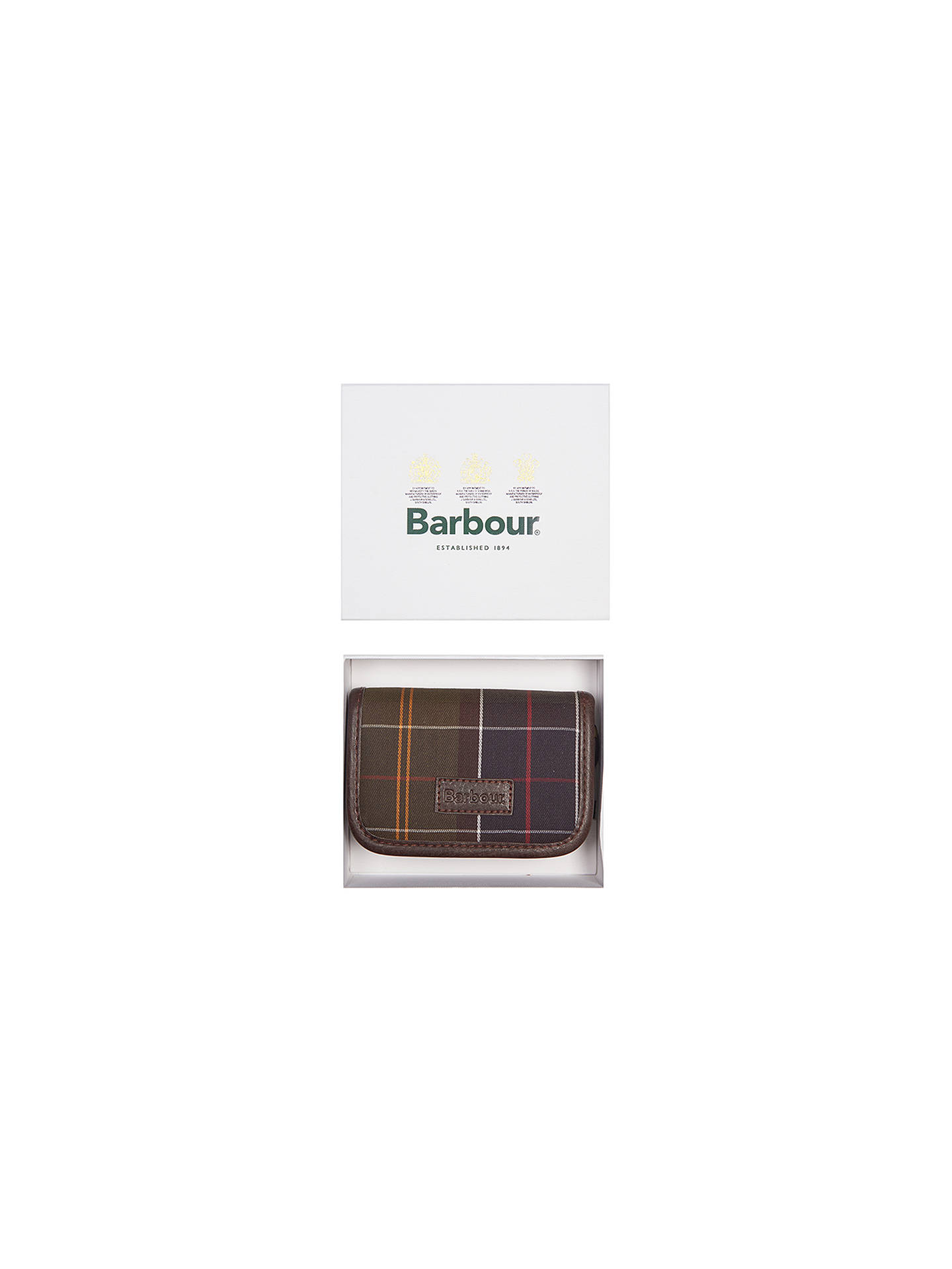 Buy Barbour Classic Tartan Gift Boxed Manicure Kit, Green Online at johnlewis.com