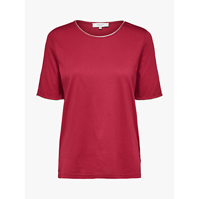 Selected Femme Lucy T-Shirt, Beet Red