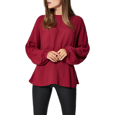 Selected Femme Baliva Blouse, Beet Red