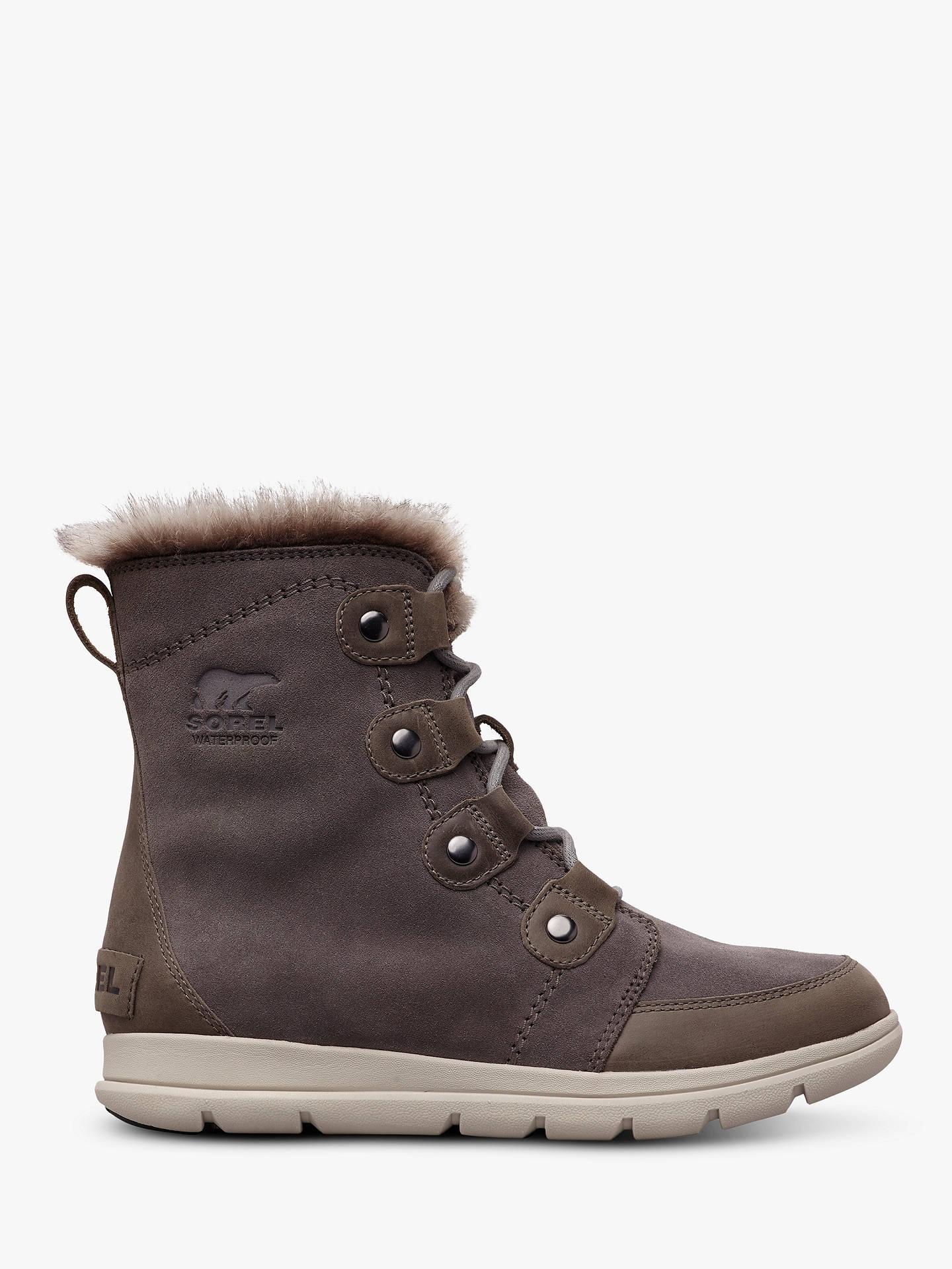 b11d6370b1d Sorel Explorer Joan Snow Boots, Grey
